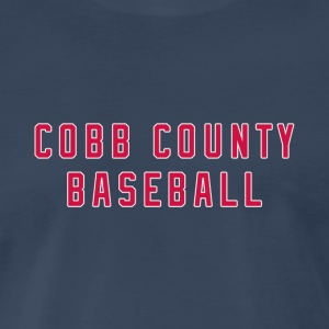 Cobb County Baseball - Men's Premium T-Shirt