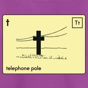 SenseAble telephone pole - Kids' Premium T-Shirt