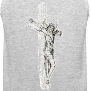Sketched Cross Sportswear - Men's Premium Tank