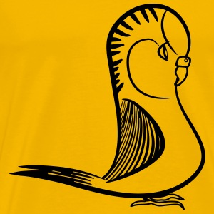 budgie bird sweet T-Shirts - Men's Premium T-Shirt