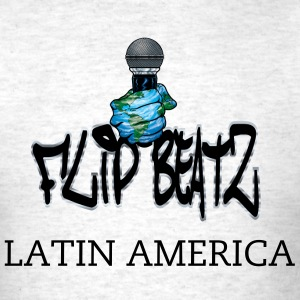 I FLIP BEATS LATIN AMERICA - Men's T-Shirt