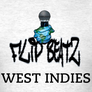 I FLIP BEATS WEST INDIES - Men's T-Shirt