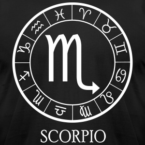 Scorpio astrological zodiac sign T-Shirts - Men's T-Shirt by American Apparel