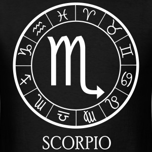 Scorpio astrological zodiac sign T-Shirts - Men's T-Shirt