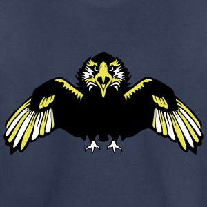eagle wing head face 1102 Kids' Shirts - Kids' Premium T-Shirt