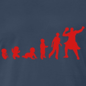 evolution men highland games 1 T-Shirts - Men's Premium T-Shirt
