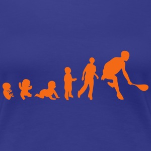 evolution squash racket 2 T-Shirts - Women's Premium T-Shirt