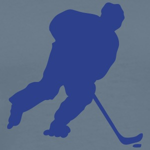 inline skating hockey figure 4 1 T-Shirts - Men's Premium T-Shirt