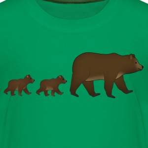 mother bear and baby Kids' Shirts - Kids' Premium T-Shirt