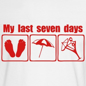 my last seven days cocktail sun Long Sleeve Shirts - Men's Long Sleeve T-Shirt