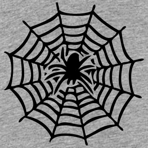 canvas with spider Kids' Shirts - Kids' Premium T-Shirt