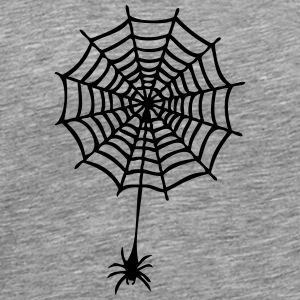 canvas with spider 1 T-Shirts - Men's Premium T-Shirt