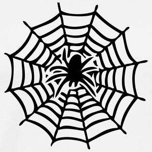 canvas with spider T-Shirts - Men's Premium T-Shirt