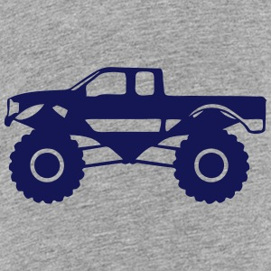 monster truck 1012 Kids' Shirts - Kids' Premium T-Shirt