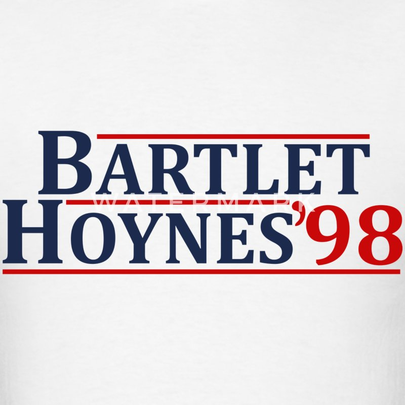 Bartlet and Hoynes 1998 - Men's T-Shirt
