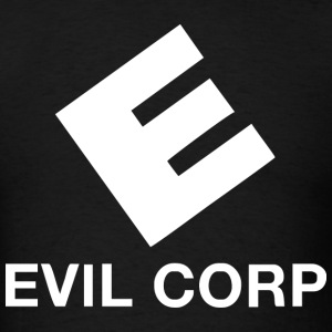 Evil Corp Logo - Men's T-Shirt