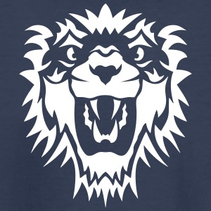 animals wild lion head king 10092 Kids' Shirts - Kids' Premium T-Shirt