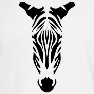 10094 wild animals zebra head Long Sleeve Shirts - Men's Long Sleeve T-Shirt
