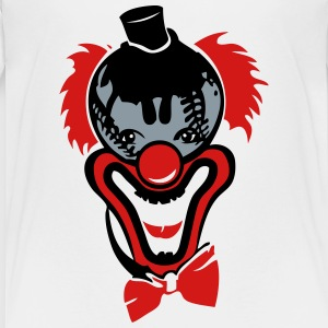 baseball ball clown nose red bow tie Kids' Shirts - Kids' Premium T-Shirt