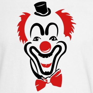 red clown nose hat bowtie Long Sleeve Shirts - Men's Long Sleeve T-Shirt