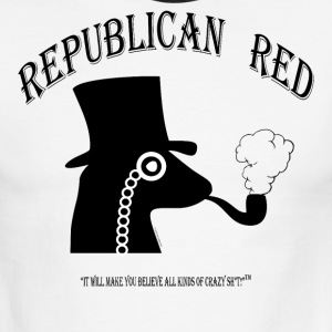 REPUBLICAN RED:   It's some Crazy Sh*t! T-Shirts - Men's Ringer T-Shirt