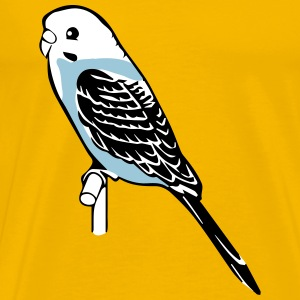 budgie bird pet T-Shirts - Men's Premium T-Shirt