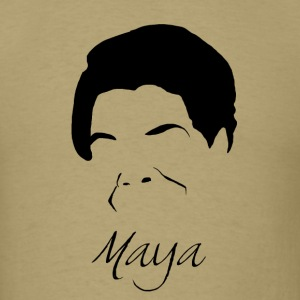 Maya Angelou Silhouette - Men's T-Shirt