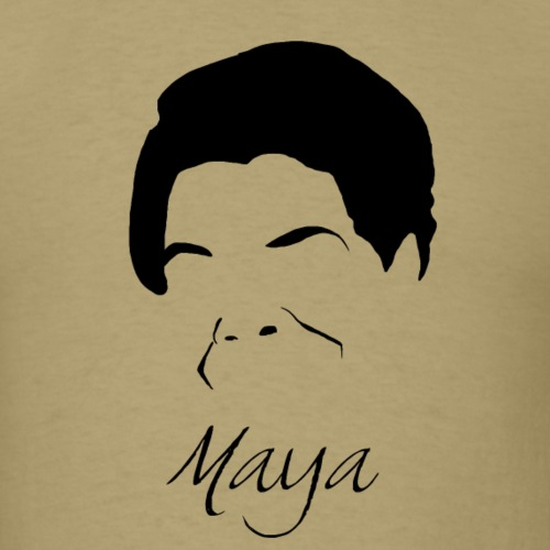 Maya Angelou Silhouette