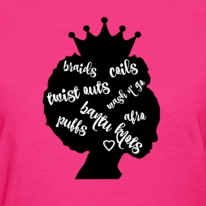 Natural Hairstyles Women's T-Shirts - Women's T-Shirt