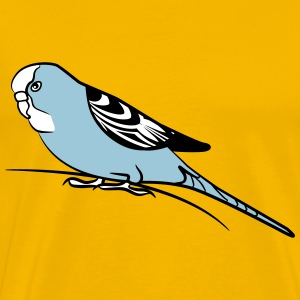 budgie bird T-Shirts - Men's Premium T-Shirt