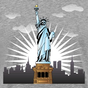 World famous Statue of liberty sight - Men's Premium T-Shirt