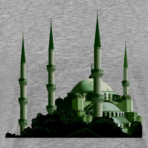 Turkey Istanbul the blue mosque T-Shirts - Men's Premium T-Shirt