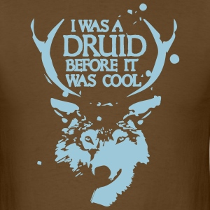 Hipster Druid - Men's T-Shirt