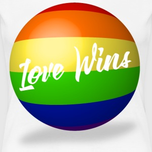Love Wins - Women's Premium T-Shirt