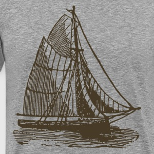 Vintage transport ship T-Shirts - Men's Premium T-Shirt