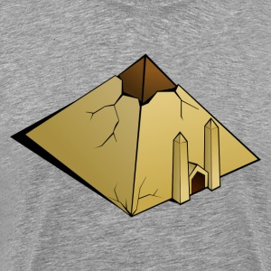 Pyramid clip art T-Shirts - Men's Premium T-Shirt