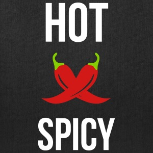 Hot & Spicy bbq Bags & backpacks - Tote Bag