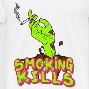 Smoking Kills T-Shirts - Men's Premium T-Shirt