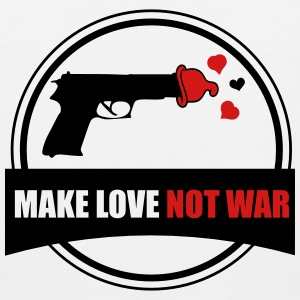 make love not war Sportswear - Men's Premium Tank