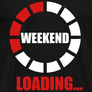 weekend loading T-Shirts - Men's Premium T-Shirt