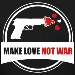 make love not war Women's T-Shirts - Women's T-Shirt