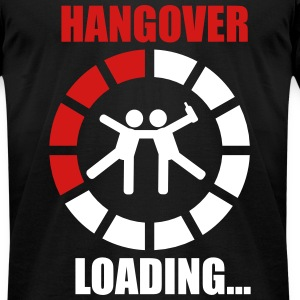 Hangover loading 2 T-Shirts - Men's T-Shirt by American Apparel