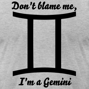 Gemini zodiac sign  for horoscope T-Shirts - Men's T-Shirt by American Apparel