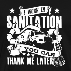 Sanitation Worker Shirt - Men's Premium T-Shirt