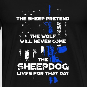 Sheepdog Shirt - Men's Premium T-Shirt
