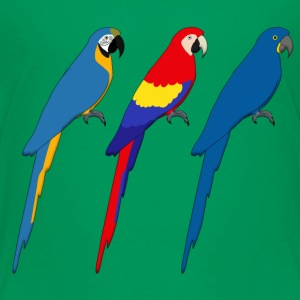Three Parrots Kids' Shirts - Kids' Premium T-Shirt