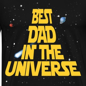Best Dad In The Universe T-Shirts - Men's Premium T-Shirt