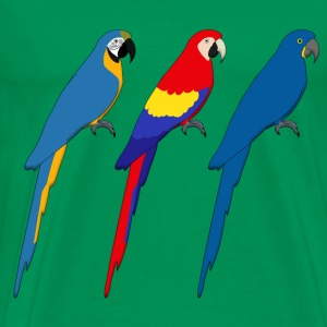 Three Parrots T-Shirts - Men's Premium T-Shirt