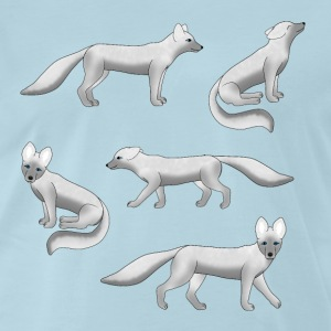 Arctic fox T-Shirts - Men's Premium T-Shirt