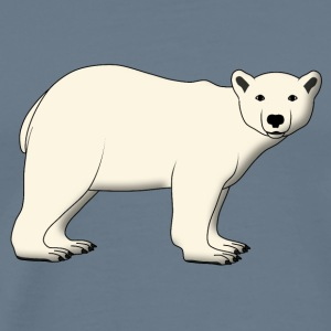 polar bear looks T-Shirts - Men's Premium T-Shirt